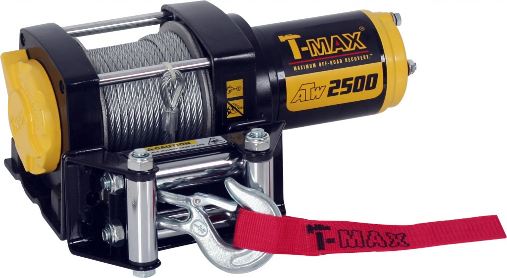 T-Max winches ATW2500 with  Cable Rope